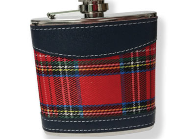 HFSKRS Royal Stewart Hip Flask In Gift Box 6oz  (3)