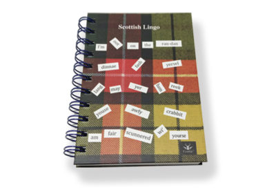 NB01SL  Scottish Lingo A6 Notebook  100 Pages  (10)