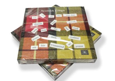 PN01SL  Scottish Lingo Paper Napkins (20) In Cdu (12)