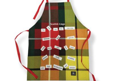 T10SL  Scottish Lingo Cotton Apron  (3)